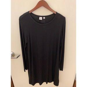 Long sleeve black tee shirt dress 🖤